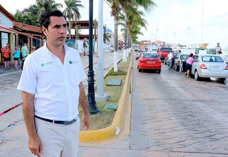 La circulación vehicular será suspendida en otro tramo de la avenida Rafael E. Melgar de Cozumel. (Cortesía)