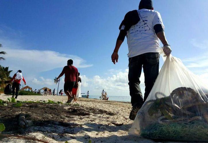 Se realizará en Cancún una limpieza comunitaria de playas con el objetivo de mejorar la situación ecológica del destino. (Archivo/SIPSE)