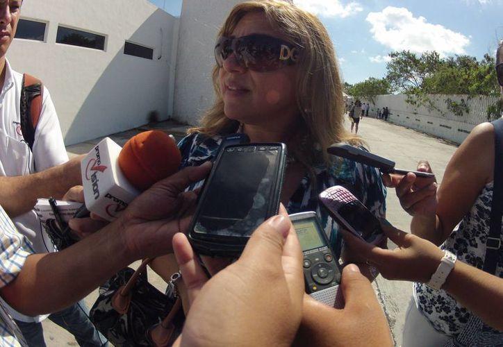 María José López Canto dijo que encontraron una cárcel muy tranquila y sin problemas. (Juan Estrada/SIPSE)