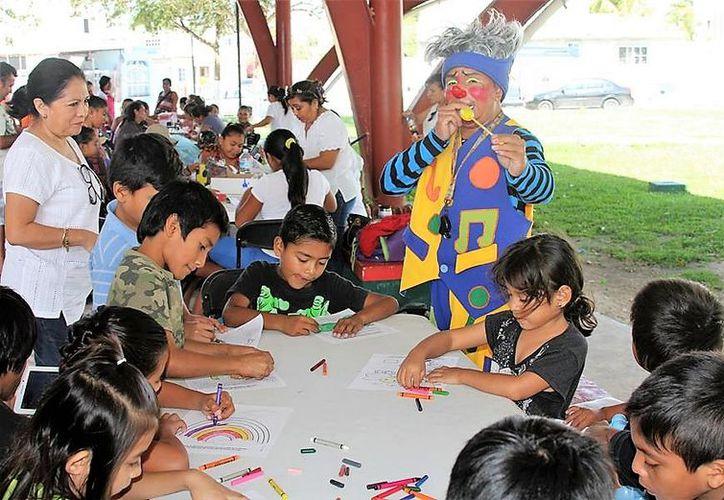 """La Fundación de Parques y Museos de Cozumel (FPMC) realizó una edición más de su programa """"Sábados Familiares con la Fundación. (Redacción/SIPSE)."""
