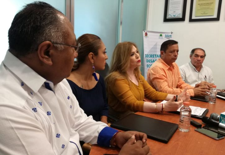 Rosa Elena Lozano Vázquez, titular de la Sede, dijo que participarán empresarios locales y nacionales. (Daniel Tejeda/SIPSE)