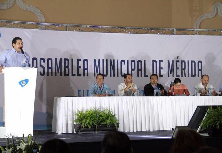 Jesús Pérez Ballote es el nuevo presidente del CEM del PAN en Mérida. (José Acosta/SIPSE)