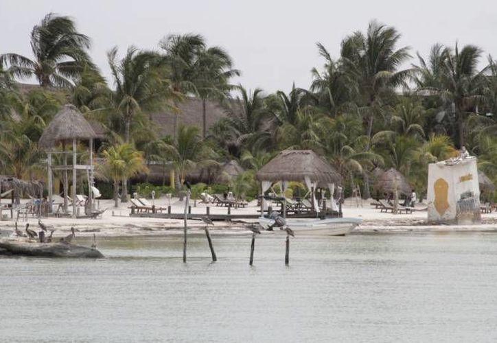Exhiben las bellezas naturales de la isla. (Redacción/SIPSE)