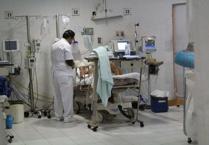 Se registró carencia en insumos necesarios para los pacientes. (Luis Soto/SIPSE)