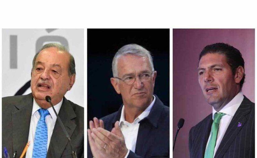 Entre los invitados figuran Carlos Slim, Ricardo Salinas Pliego, Carlos Hank y Daniel Chávez, de Grupo Vidanta.  (Foto. Twitter).