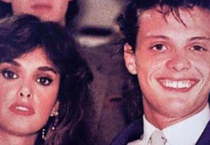 'El Sol' y Lucía Méndez tuvieron un fugaz romance. (Internet)