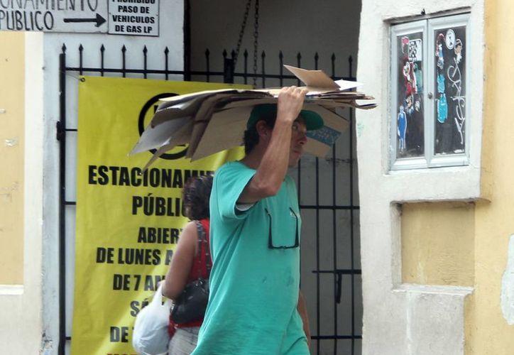 El martes los termómetros marcaron una temperatura máxima de 35.7 grados en Mérida. (SIPSE)
