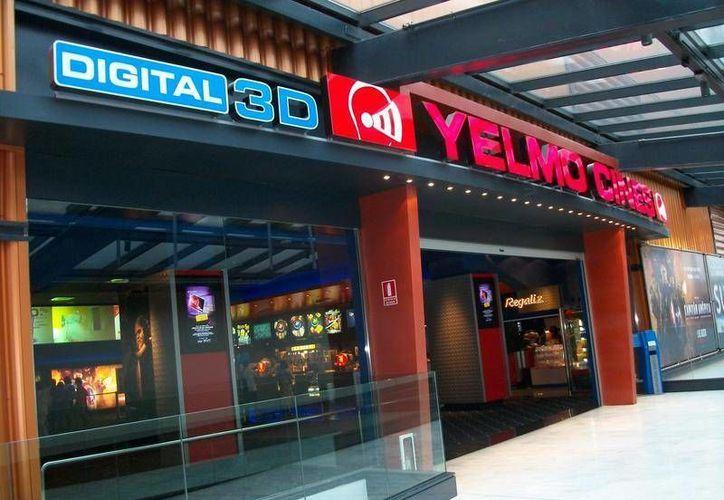 Yelmo Cines es la segunda cadena de cines más grande de España. (yelmocines.es)