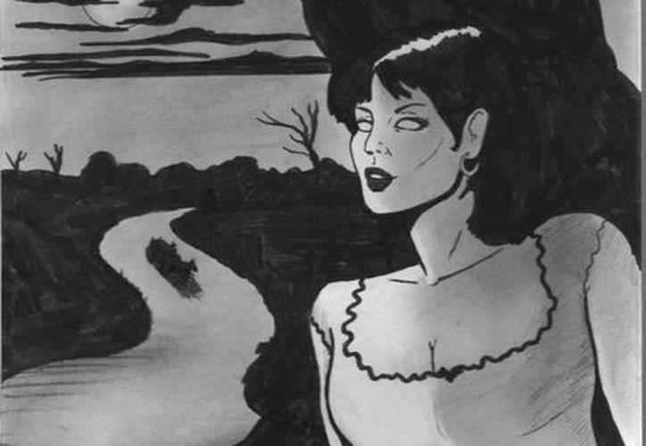 La leyenda dice que la guapa mujer conocida como Xtabay se esconde detrás de las ceibas en espera de sus víctimas. (Jorge Moreno/SIPSE)