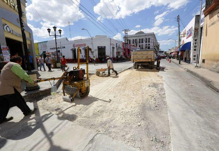 La calle 65 del centro de Mérida es una de las más transitadas, por estar en la zona del mercado. (SIPSE)