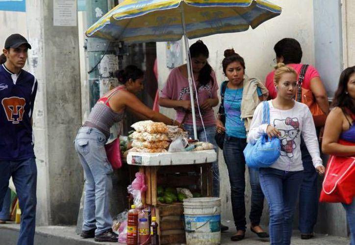 Buscan la dignificación del comercio informal en Mérida. (Milenio Novedades)