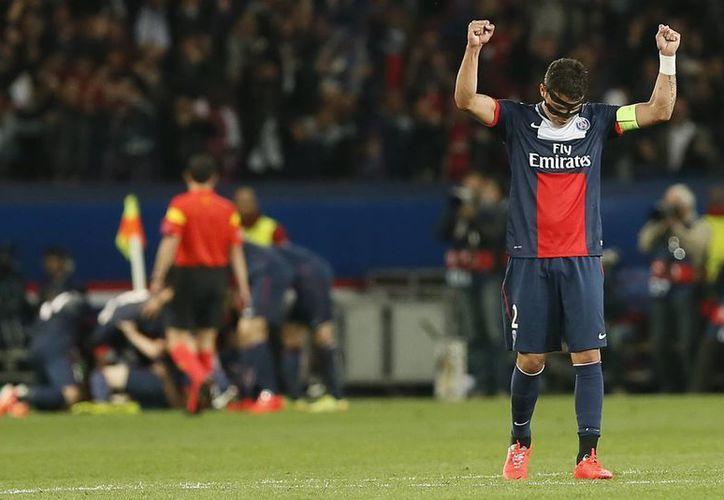 El PSG está cerca de ganar la Liga y copa francesas, pero quedaron eliminados de la UEFA Champions League hace unos días. (EFE)