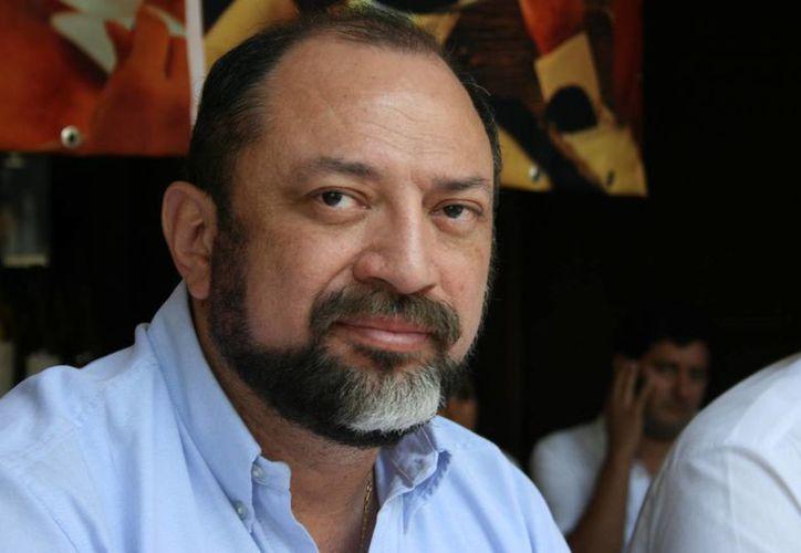 Darío Flota Ocampo, director del Fideicomiso de Promoción Turística de la Riviera Maya. (Adrián Barreto/SIPSE)