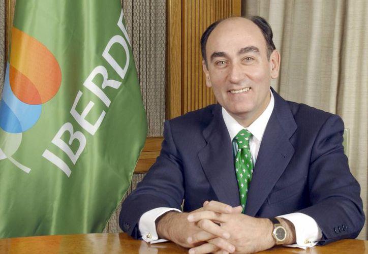 Ignacio Sánchez, presidente de la empresa Iberdrola, destacó que el programa mexicano de sustitución de centrales de combustóleo por centrales de gas es un buen ejemplo para reducir costos y emisiones contaminantes. (iberdrola.es/Foto de archivo)