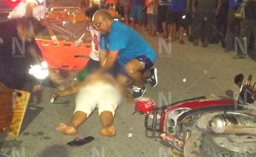 En lo que va de la temporada de asueto, tres motociclistas han perdido la vida en carreteras del Estado. (Novedades Yucatán)