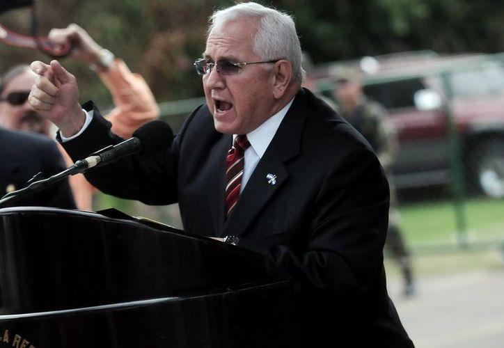 Micheletti pidió a los hondureños a mantener la calma, un llamado previo a los comicios. (Archivo/EFE)