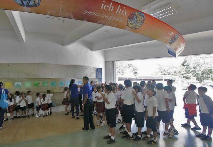 Estima el Planetario de Cancún Ka' Yok' atenderá a 350 alumnos durante enero. (Redacción/SIPSE)