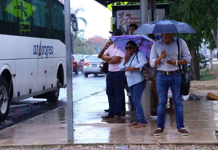 Se prevén tormentas fuertes y puntuales intensas en Yucatán y Quintana Roo. (Jorge Acosta/Milenio Novedades)