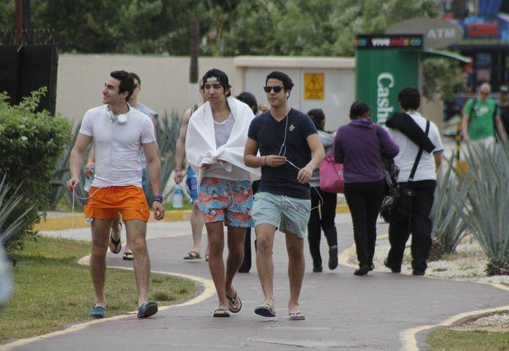 Miles de turistas visitarán las playas de Cancún. (Israel Leal/SIPse)
