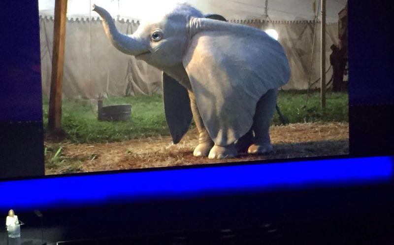 Revisa las primeras imágenes de Dumbo, dirigida por Tim Burton