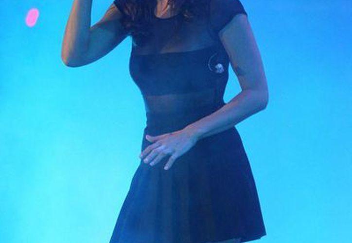 La rapera española Mala Rodríguez durante su presentación en la Cumbre Tajín 2015. (Notimex)