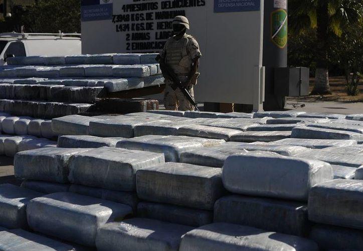 En los últimos años se han confiscado en México grandes cantidades de sustancias utilizadas en la fabricación de éxtasis. (Archivo/Notimex)