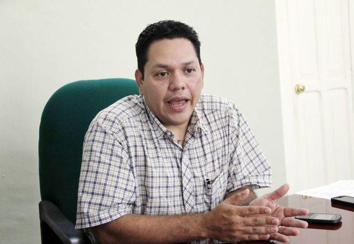 El delegado de la Procuraduría Agraria en Yucatán, Pablo Castro Alcocer. (SIPSE)