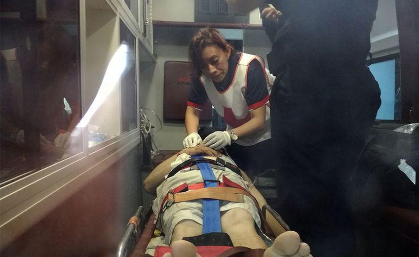 Este miércoles, un obrero se lesionó en Progreso. En lo que va del año, ya son 4 los muertos en accidentes laborales en Yucatán. (Gerardo Keb/SIPSE)