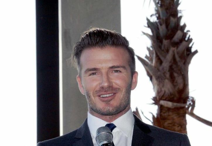 El ex jugador inglés David Beckham establecerá en Miami una franquicia de la MLS (Major League Soccer), anunció hoy Don Garber, comisionado de liga.- (Notimex)