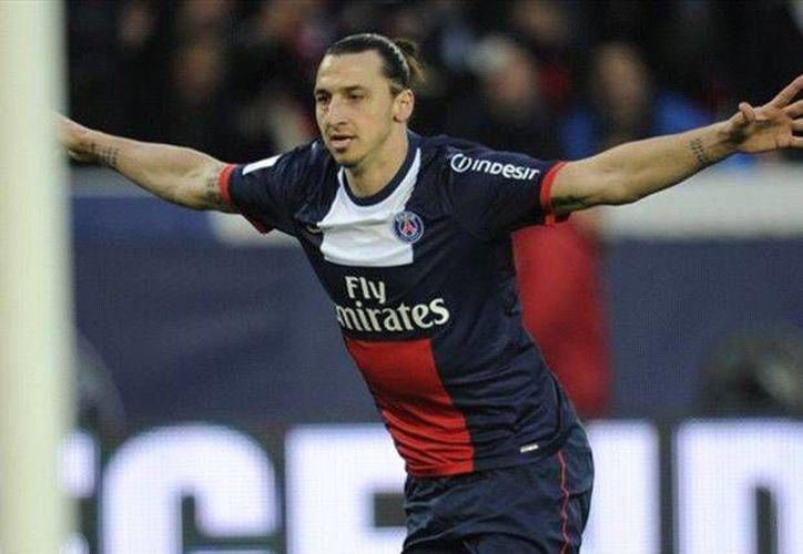 Ibrahimovic entró demasiado tarde al partido contra el Montpellier, que eliminó al PSG en su propia casa. (givemegoal.com)