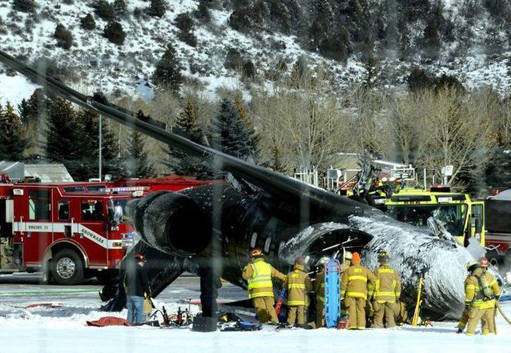 Las autoridades de Colorado, Estados Unidos, dijeron que el vuelo se originó en México. (Agencias)