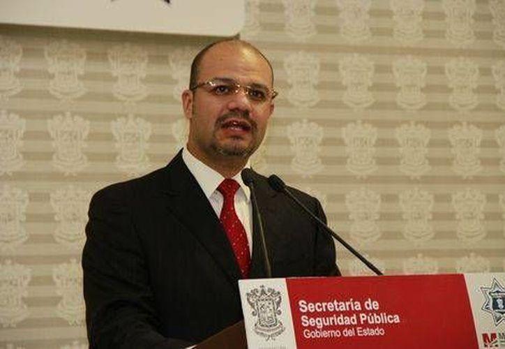 Carlos Hugo Castellanos Becerra, titular de la Secretaría de Seguridad Pública de Michoacán. (Milenio/Quadratín)