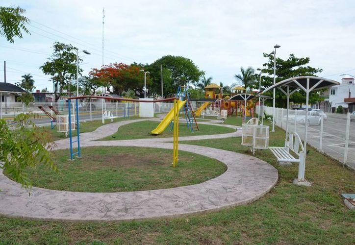 El ayuntamiento gestiona con empresarios la creación de un parque para la prevención del delito, La zona que propondrán es el parque de la colonia Forjadores. (Gerardo Amaro/SIPSE)
