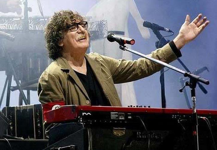 Charly García, cantante argentino, fue hospitalizado el pasado jueves por segunda ocasión en menos de de una semana.(Notimex)