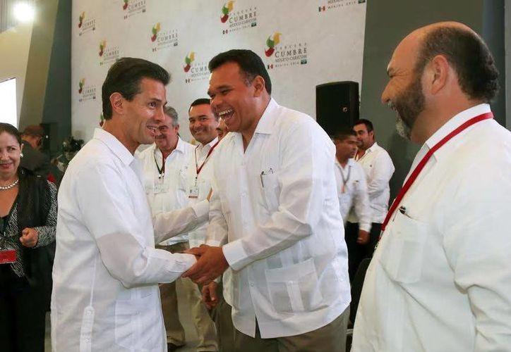 El Gobernador Rolando Zapata inaugurará en el Siglo XXI la VI Cumbre de la AEC. (SIPSE)