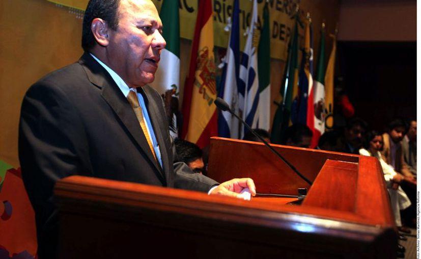 Zambrano comentó que se expresarían a través de discursos y posicionamientos. (Reforma)