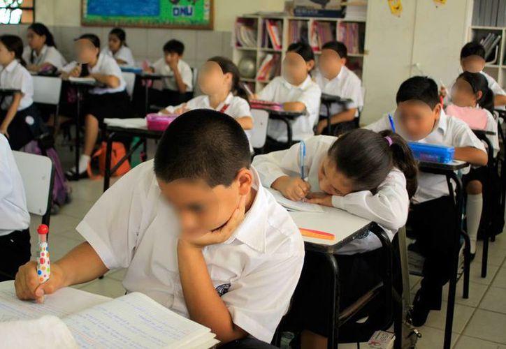 El Gobierno anunció que amplió en 16 mil lugares el cupo en las escuelas de nivel básico de Yucatán. La imagen está utilizada sólo con fines ilustrativos. (Archivo/Milenio Novedades)