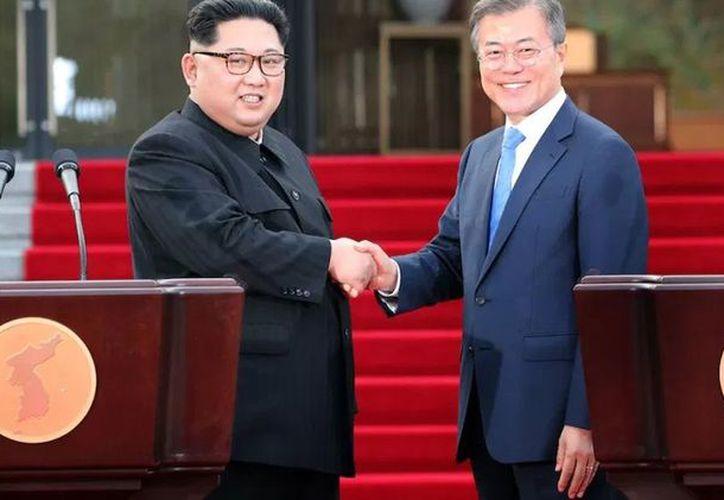 Los mandatarios asiáticos tendrán nueva reunión para implementar los puntos de la 'Declaración de Panmunjom' (Foto: tribuna.com.mx)