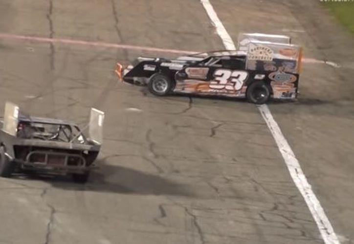 Los organizadores de la competencia analizan la posibilidad de que ninguno de los dos pilotos vuelvan a competir. (Foto: Captura)