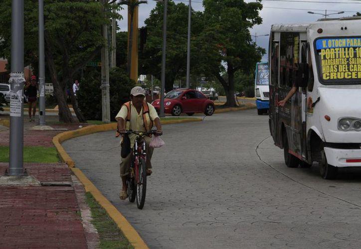 El recorrido será en las principales avenidas del primer cuadro de la ciudad. (Tomás Álvarez/SIPSE)