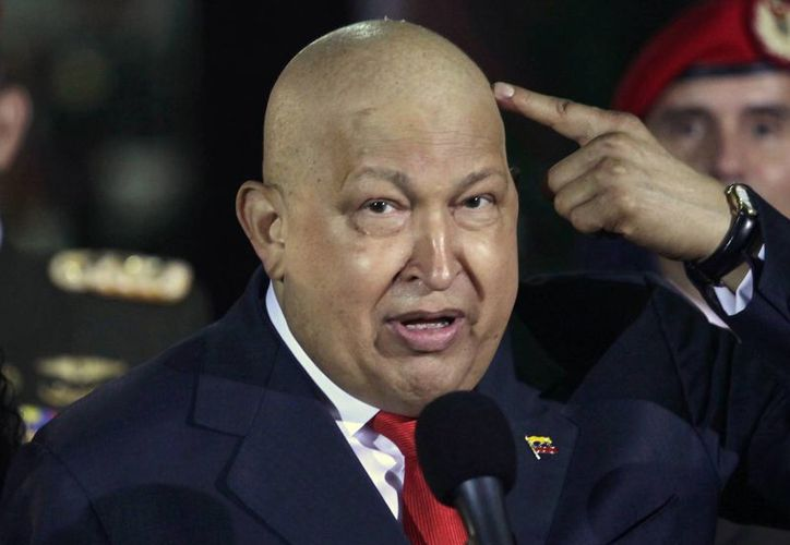 El presidente venezolano en imagen del 11 de octubre de 2011, en el Palacio de Miraflores, en Caracas. (Archivo/AP)