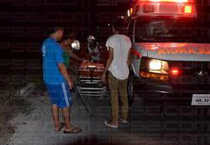 El herido relató que su hermano no huyó y se quedó en el lugar para prestarle ayuda, mientras llegaban los cuerpos de emergencia. (SIPSE)