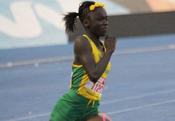 La atleta Jamaiquina superó a todos los competidores masculinos. (Infobae)