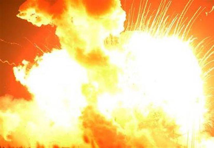 El cohete Antares de Orbital Sciences Corp. explotó encima del complejo de lanzamiento en la Isla Wallops, Virginia. (Agencias)