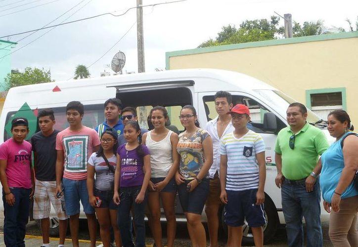 Los 13 jóvenes son de Holbox, El Cedral, El Ideal y Kantunilkín. (Raúl Balam/SIPSE)