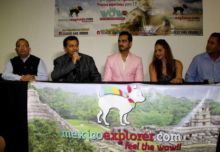 En conferencia de prensa, los organizadores del evento hablaron sobre la promoción que se realizará del destino turístico con el evento. (Gonzalo Zapata/SIPSE)
