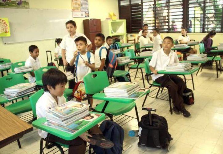 En Yucatán, más de la mitad de los planteles eligió el calendario de 185 días sugerido por la Secretaría de Educación Pública. (Foto de contexto de SIPSE)