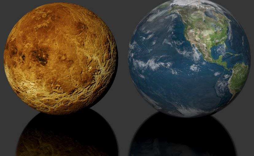 La Tierra podría convertirse en un planeta como Venus, con nubes de ácido sulfúrico en el cielo. (Internet)