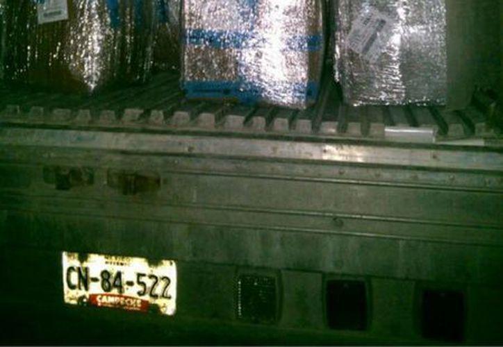 El cargamento tenía como destino Hong Kong. (Eric Galindo/SIPSE)
