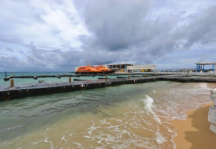 La ruta de carga entre Caletita y Punta Venado, reanudó operaciones en el mismo horario con una embarcación de la naviera Ultracarga. (Gustavo Villegas/ SIPSE)